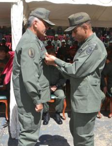 Entregaron reconocimiento al Comandante de la Zodi, General de División Hernán Gil Barrios