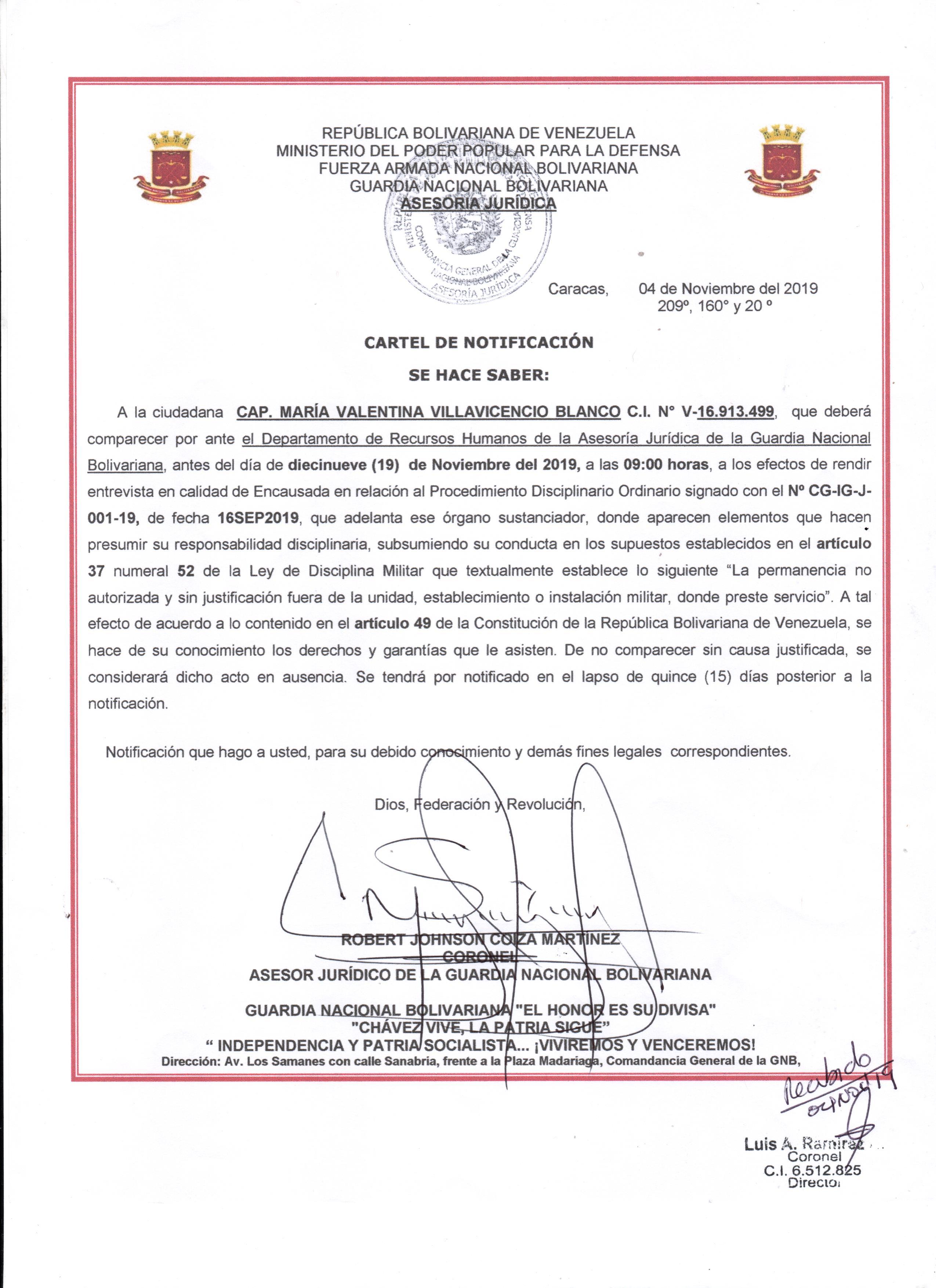 oficio remisión Cap. Villavicencio 002