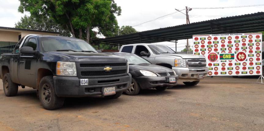 GNB Zulia recupera tres vehículos solicitados en la Concepción