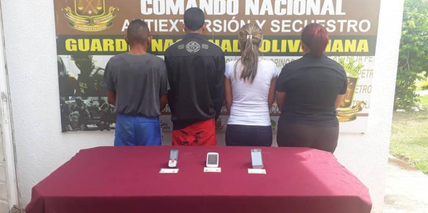 GAES 81 desmantela banda dedicada a la extorsión en Aragua de Barcelona