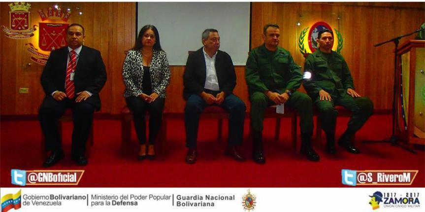 Efectivos de la GNB recibieron taller de formación en Derechos Humanos en Táchira