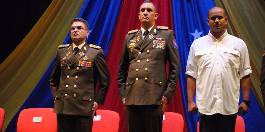 300 efectivos militares fueron ascendidos en el Teatro Principal de Caracas