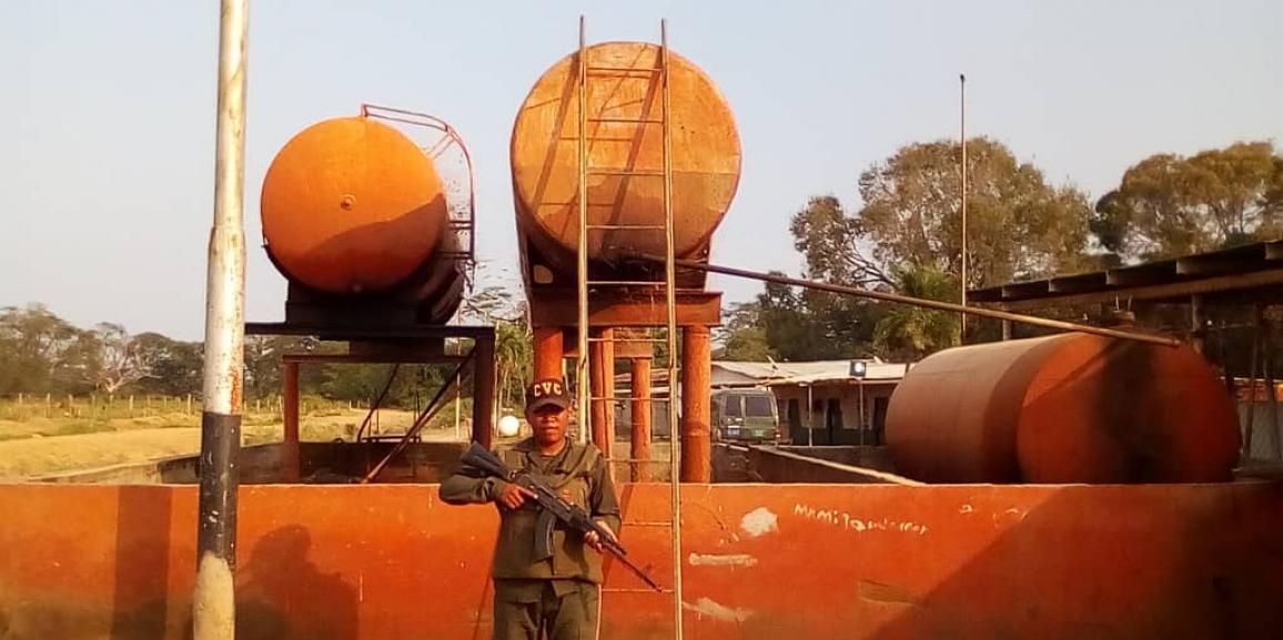 Comando de Vigilancia Costera de la GNB continua la lucha contra el contrabando de extracción de combustible en el estado Zulia