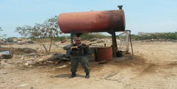 Vigilancia Costera GNB incauta 76.383 litros de gasolina, 12.772 litros gas-oíl y recuperación de material estratégico en el estado Sucre