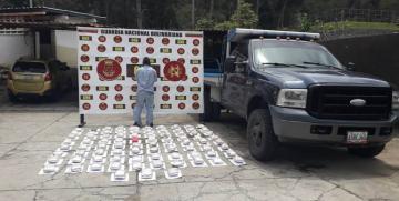 GNB detiene a un ciudadano con 42 kilos de presunta marihuana en Mucurubà estado Mérida