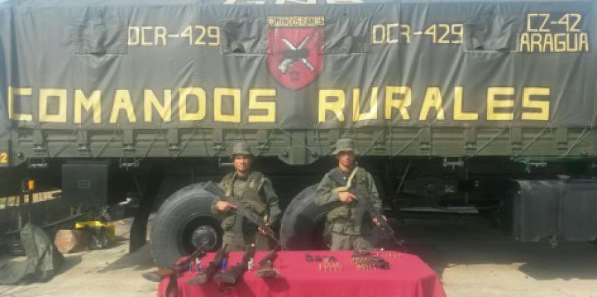 """GNB Aragua desmanteló banda delictiva """"El Orlandito"""""""