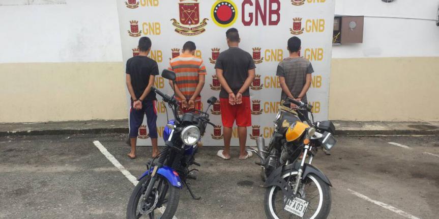 """Desmantelada banda """"Los Milagrosos"""" en Táchira"""