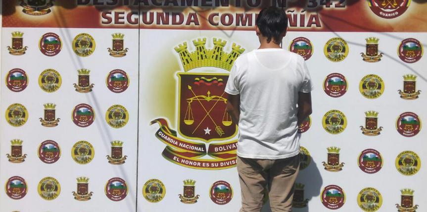 GNB Guárico capturó a cuatro evadidos de la justicia