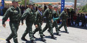 Acto de Transmisión de mando de los Comandos de Zona de la GNB Mérida y Trujillo