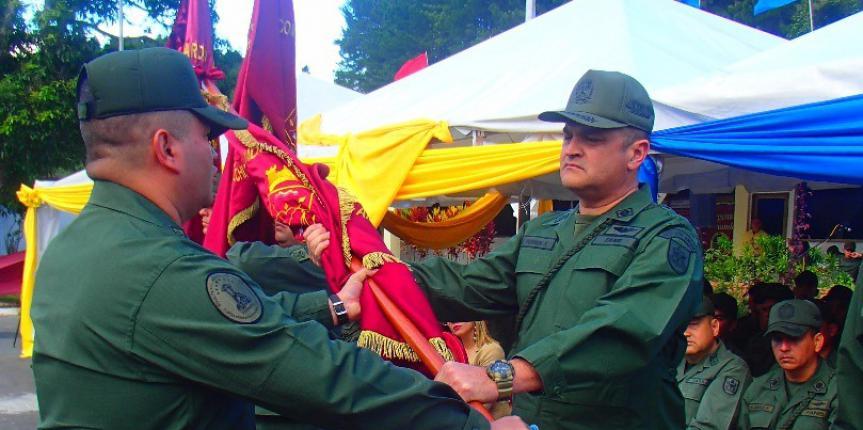 Transmisión de mando de los Comando Operativos de la GNB en el estado Táchira