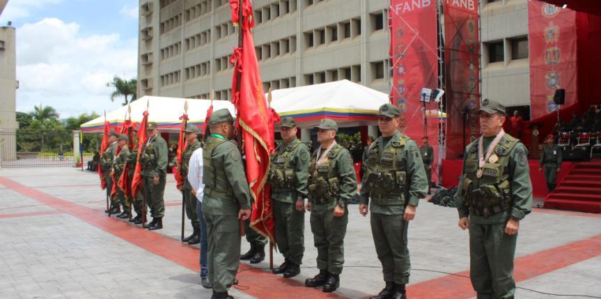 Transmisión de Mando de los Comandos de las Regiones Estratégicas de Defensa Integral