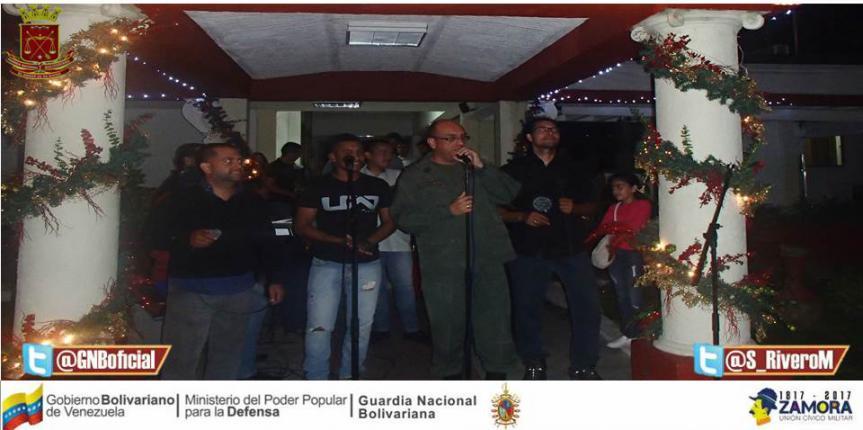 GNB Táchira realizó el Tradicional Encendido de Luces