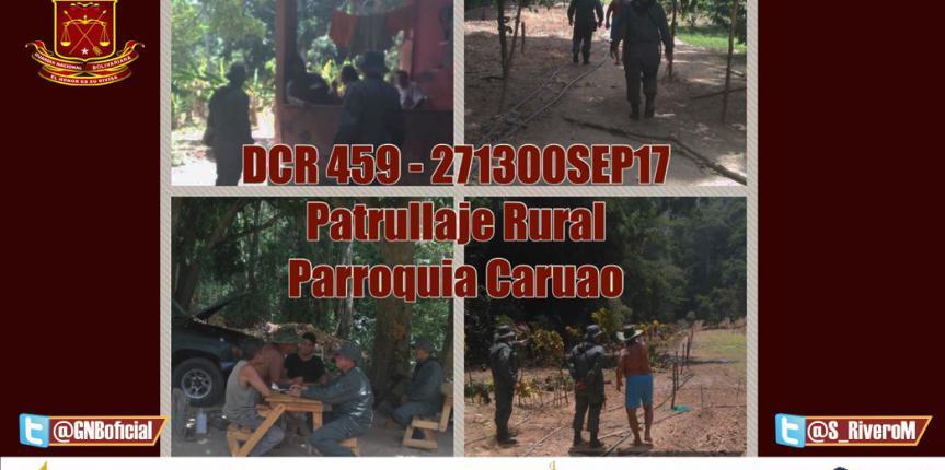 GNB Desplegados a Nivel Nacional Brindando Apoyo y Asistencia con los Comandos Rurales