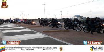 587 efectivos del Plan República fueron desplegados en el centro sur de Anzoátegui