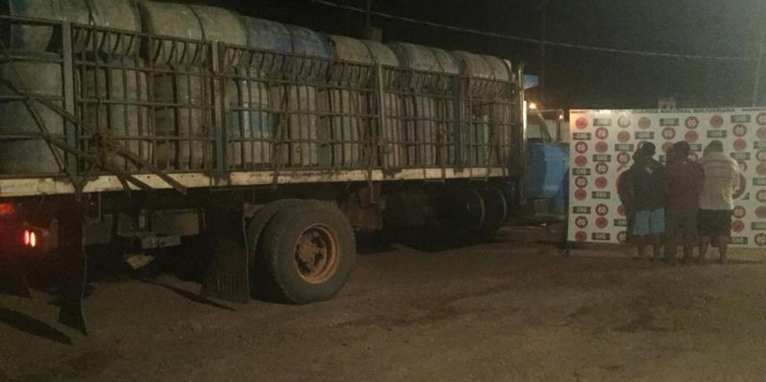 GNB retiene más de 107 mil  litros de combustible y detiene a tres ciudadanos en operación torniquete en el estado Zulia