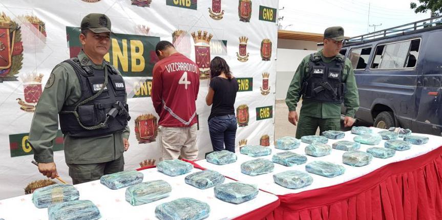 GNB da nuevo golpe al tráfico de droga incautando más de 30 envoltorios en Clarines