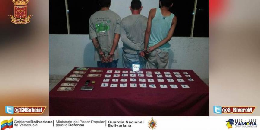 GNB desmanteló banda de microtraficantes en Barcelona