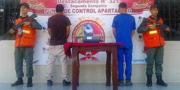 GNB captura a integrantes de dos bandas delictivas en Cojedes