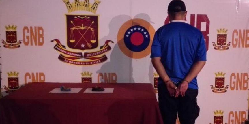Capturado ciudadano por pretender ingresar presunta droga al centro penitenciario de la región Andina