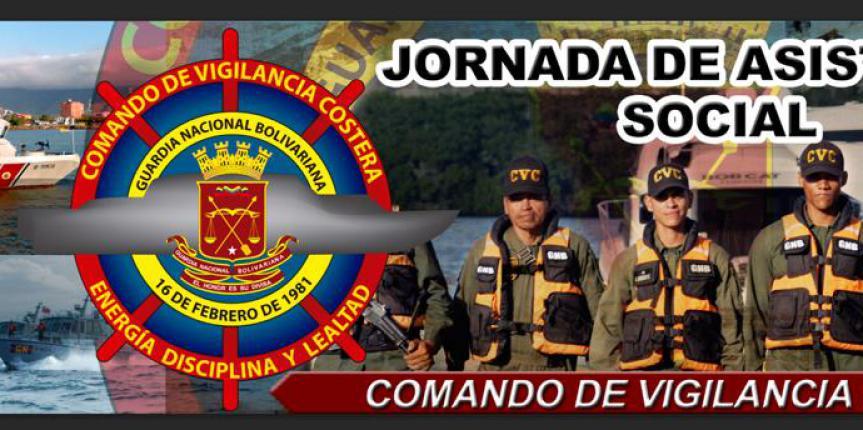 Comando de Vigilancia Costera celebra Aniversario realizando jornada de atención social en la población de Macuro estado Sucre