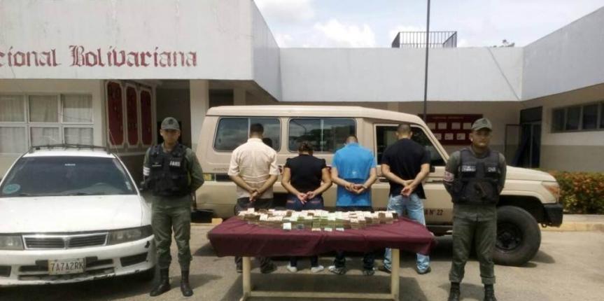 GNB desmanteló banda dedicada a ilícitos cambiarios en El Vigía