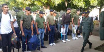 """Escuela de Capacitación Naval de la GNB """"G/D JOSÉ ANTONIO ANZOATEGUI"""" efectúa ingreso de nuevos aspirantes a GNB"""