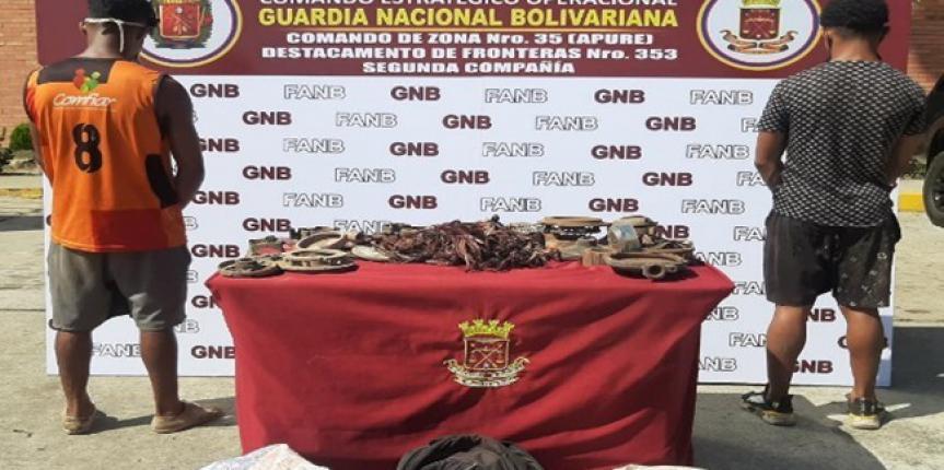 GNB capturó a dos integrantes del G.E.D.O Los Chatarreros en Apure