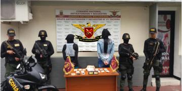 GAES Táchira frustra extorsión y capturo a dos ciudadanas