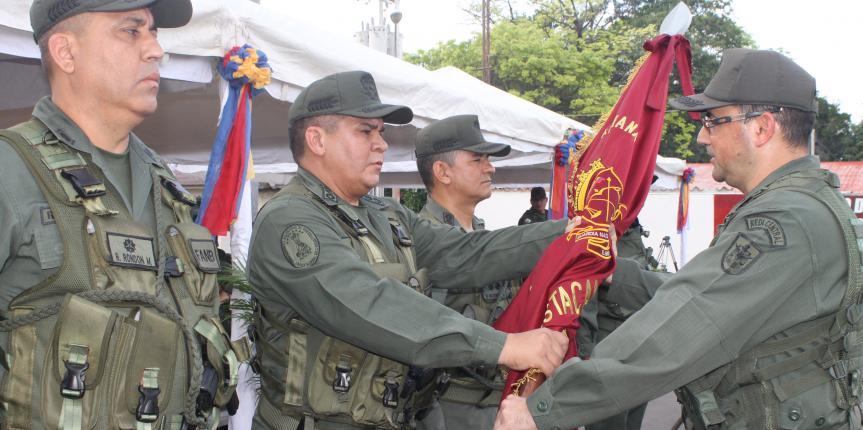Destacamentos de la GNB cuentan con nuevos comandantes en Anzoátegui
