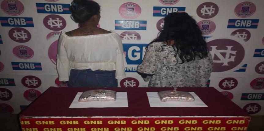 GNB Zulia capturó a dos ciudadanos con más de 1 kilo de Marihuana