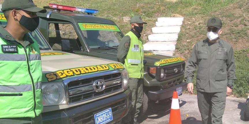 GNB activa Unidad Especial de Seguridad Vial
