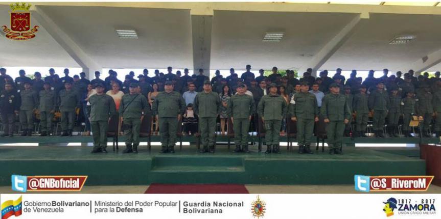 GNB Zulia tiene nuevo Segundo Comandante y Jefe de Estado Mayor