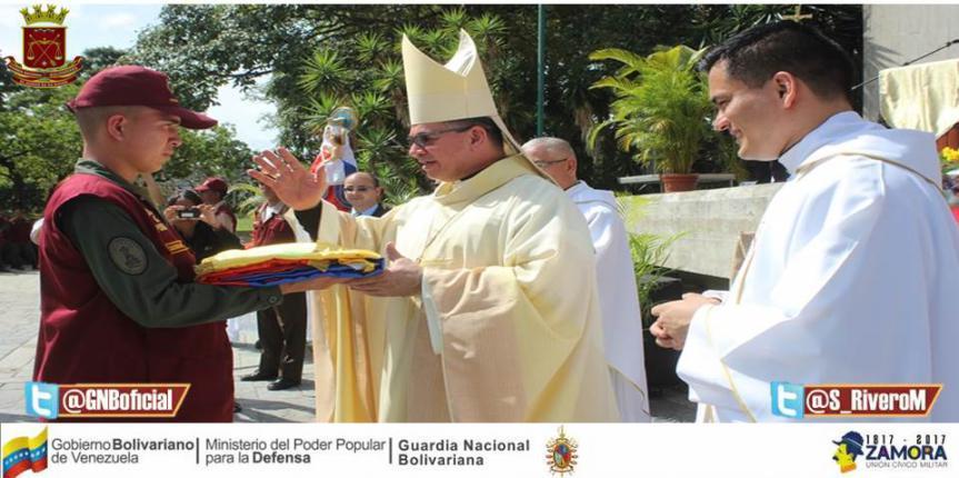 Comando Nacional Guardia del Pueblo celebró con misa solemne su 6to Aniversario