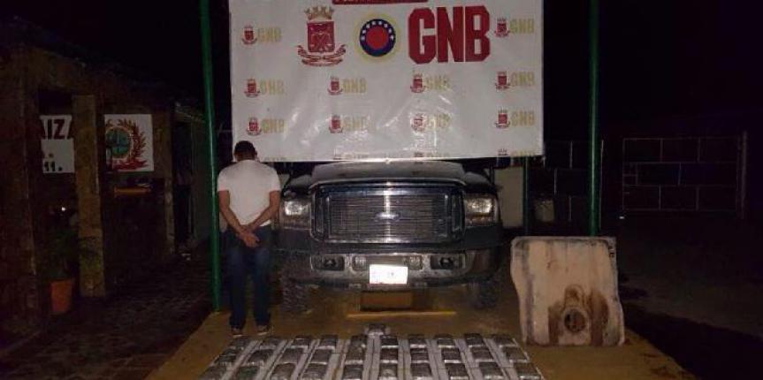 Nueva incautación de drogas de la GNB Zulia suma más de 75 kilos