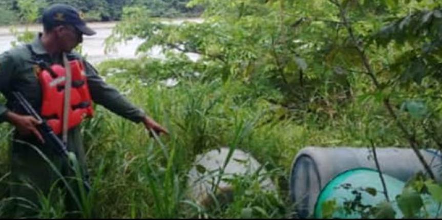Comando de Vigilancia Costera incauta 660 litros de combustible en Apure