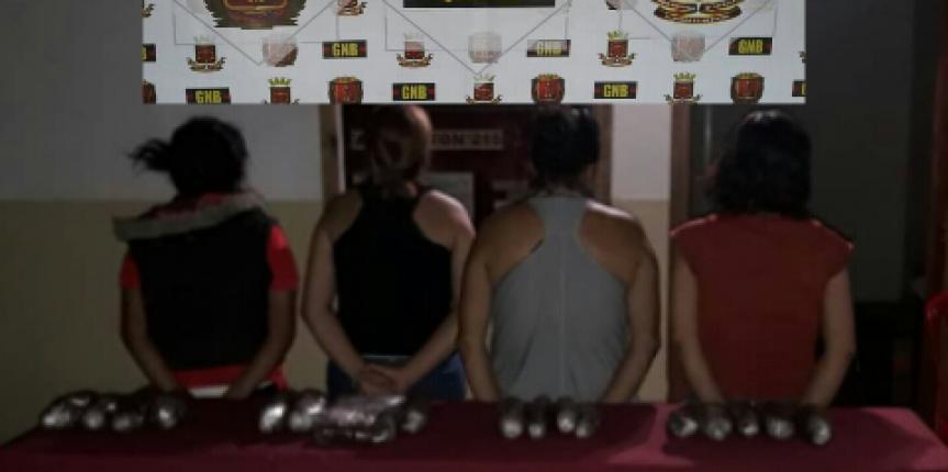 GNB Táchira desmanteló banda de damas narcotraficantes