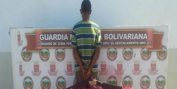 Detenido un ciudadano durante labores de patrullaje en el estado Guárico