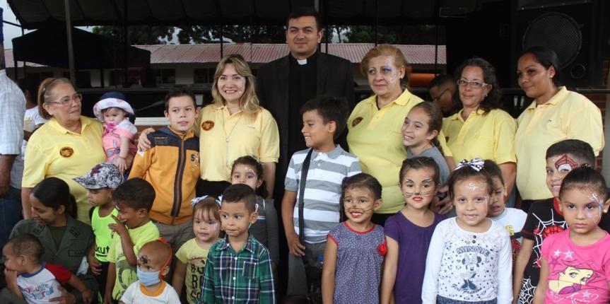 Comando General y Comité  de Acción Social de la Guardia  Nacional  Bolivariana celebraron el Día del Niño