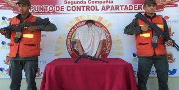 """GNB Cojedes capturó a azote de Apartadero """"El Frijolito"""""""