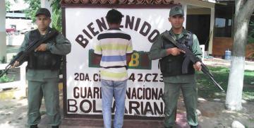 Capturado ciudadano solicitado por robo en el estado Guárico