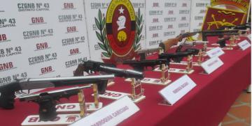 GNB Capital desmanteló banda criminal exprés dedicada al secuestro y la extorsión
