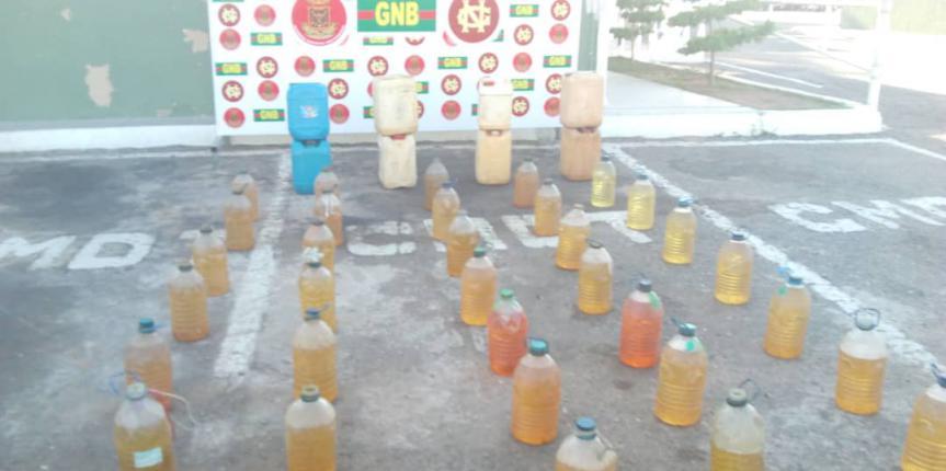 GNB Zulia retuvo en Maracaibo 14 vehículos por alteración en los tanques de combustible