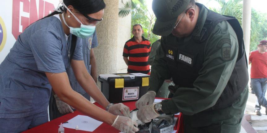 GNB detiene a dos ciudadanos con 80 panelas de cocaína en el municipio Catatumbo