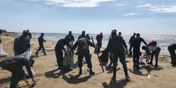 GNB en Falcón celebra con jornada de limpieza Día Mundial de Las Playas