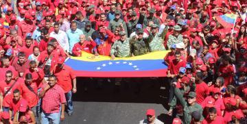 Militancia y pueblo revolucionario participo en el Ejercicio de Acción Integral Antiimperialista Zamora 200