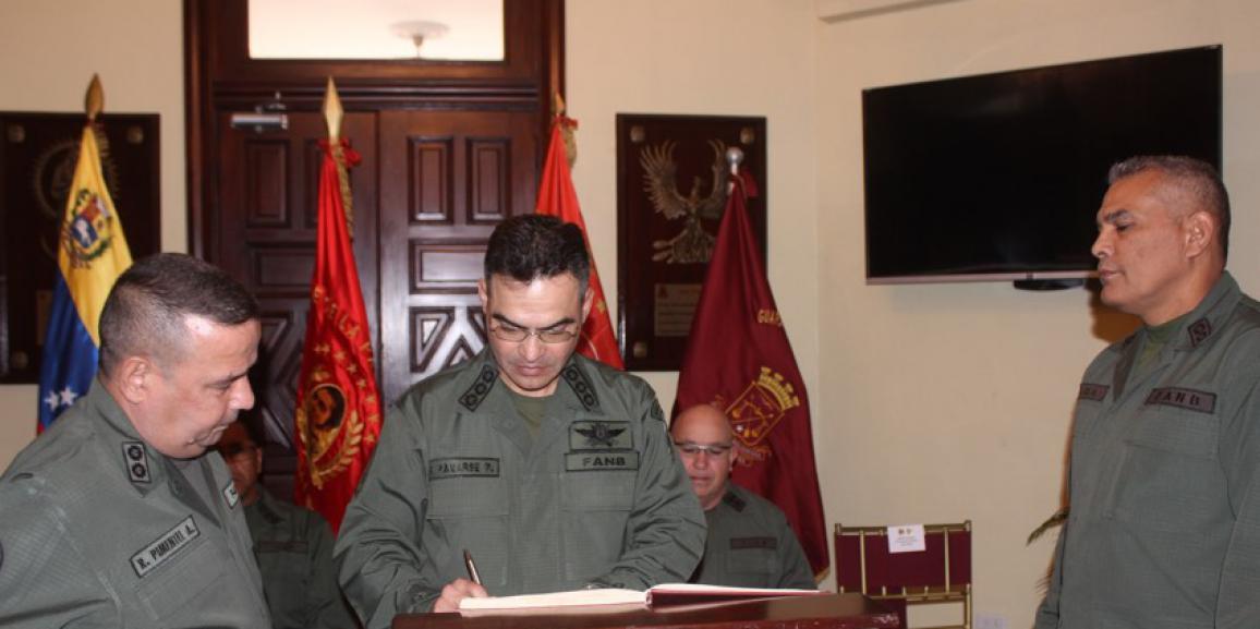 GNB realiza entrega y recepción del Segundo  Comando y Jefatura del Estado  Mayor e  Inspectoría General del Componte