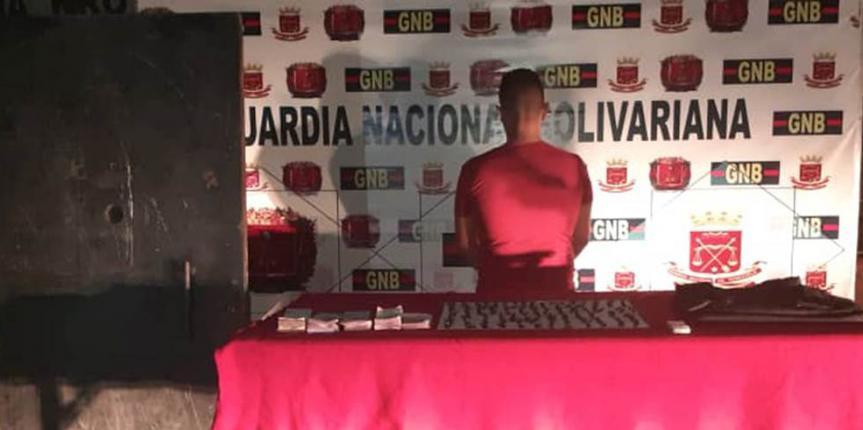 Detenido un Ciudadano por micro tráfico en el Municipio Libertador del estado Mérida