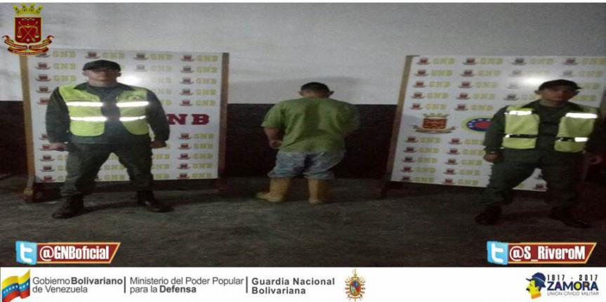 Capturado ciudadano por el delito de agresión física en el estado Trujillo