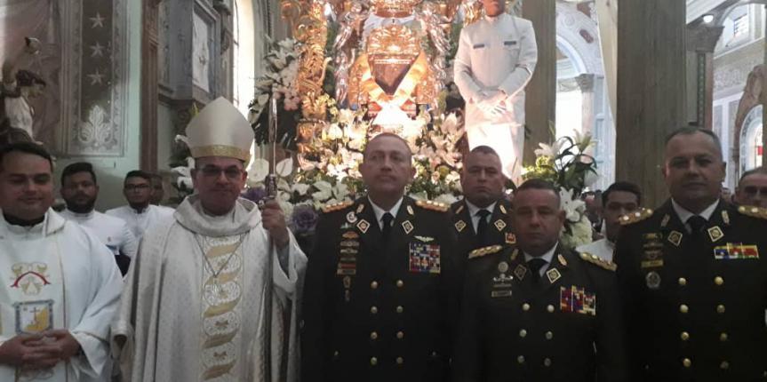 GNB conmemora 310 años de su Patrona