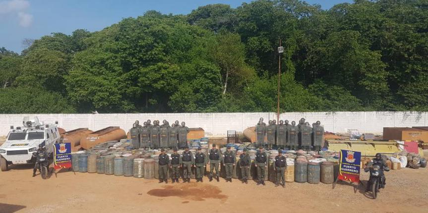 Desmantelados 10 depósitos clandestinos e incautados más de 59 mil litros de combustible en el Zulia